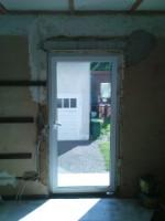 Hier Soll Rechts Neben Der Lampe Eine Nebeneingangstür Eingebaut Werden